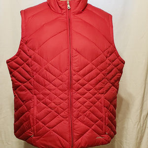 Eddie Baure Red Puffer Vest